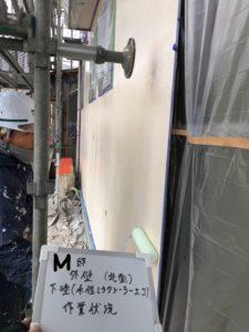 Inked北面 外壁塗装下塗り_LI