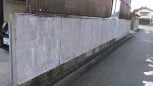 出雲市Y様邸 ブロック塀塗装工事