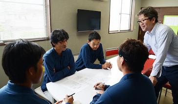 喜島塗装ではスタッフの教育・訓練に力を入れています!