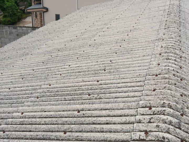 出雲市K様邸 倉庫屋根塗装工事