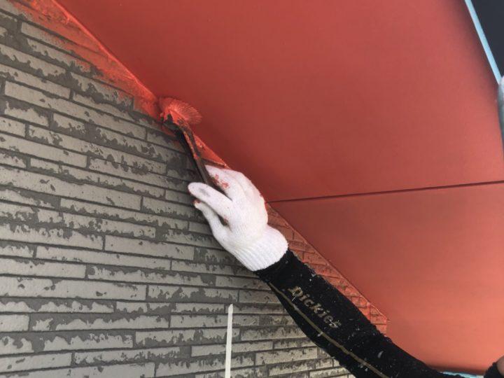 軒天 NAD塗装
