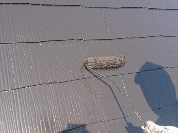 屋根 上塗(薄付)