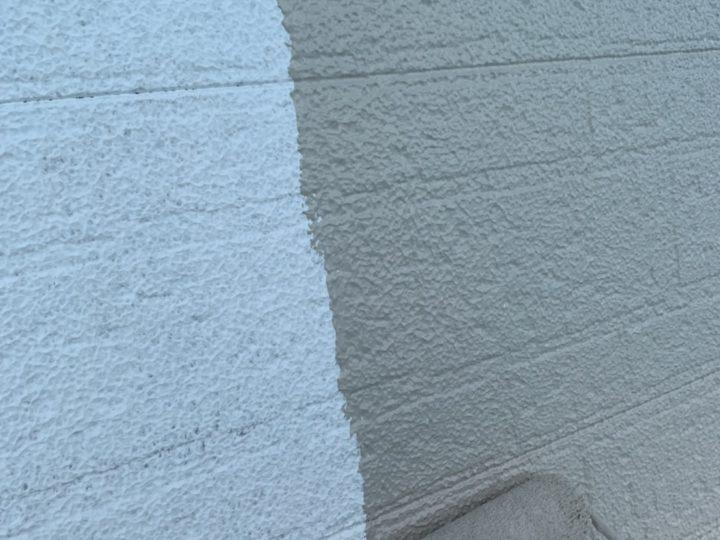 外壁 上塗1回目