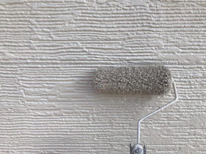 外壁 上塗り(2回目)