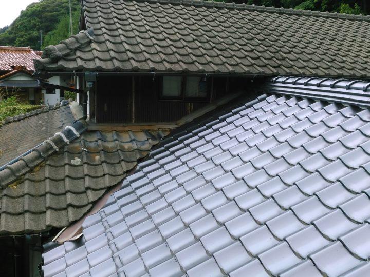 出雲市K様邸 屋根塗装工事