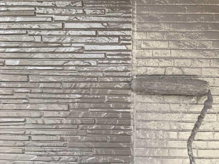 外壁 上塗2回目(薄付)