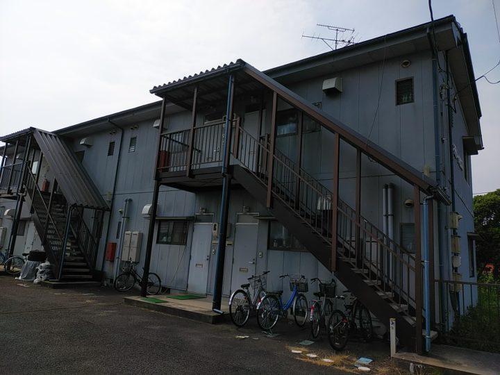 M様アパート屋根外壁塗替え工事