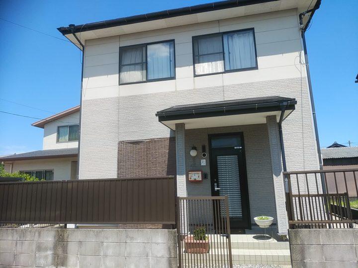 松江市S様邸屋根外壁塗替え工事