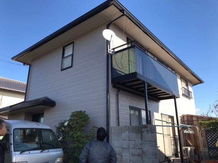 出雲市K様邸屋根外壁塗替え工事