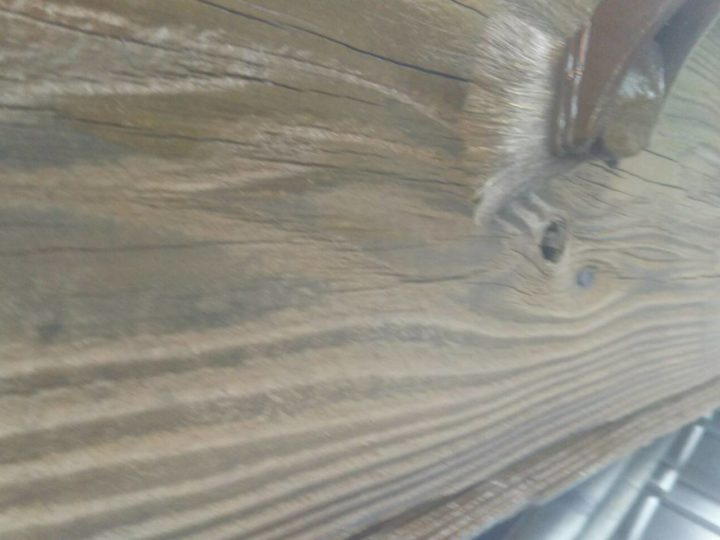 破風板・鼻隠し(木材保護塗料)