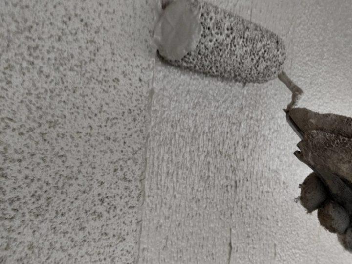 外壁 上塗2回目(厚付)