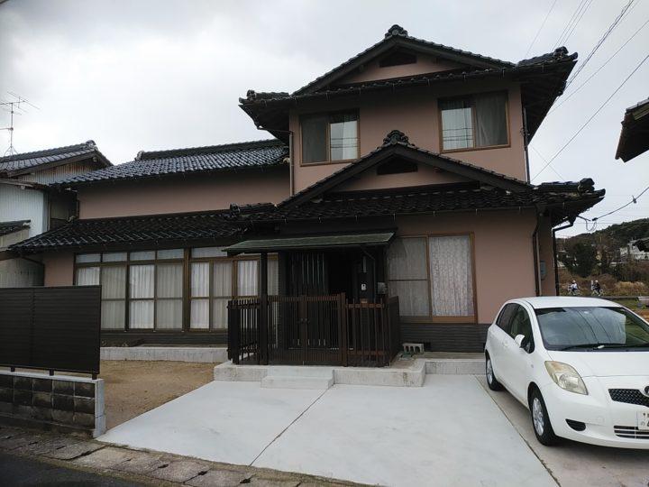 松江市M様邸 外壁塗装工事//松江市・出雲市の外壁塗装&屋根塗装KIJIMA