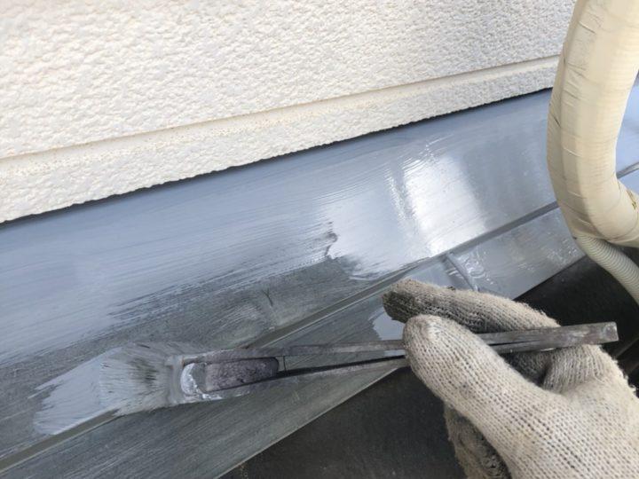 屋根水切り 錆止め