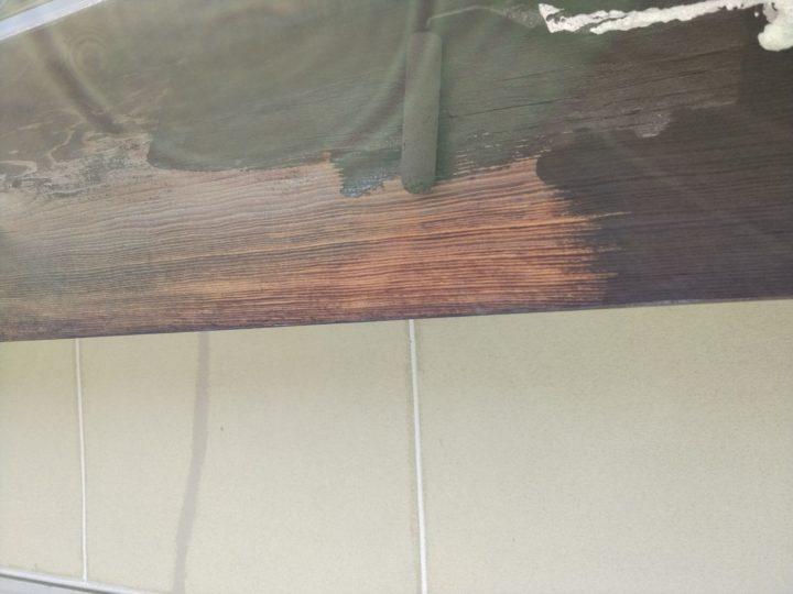 鼻隠し(木材保護塗料)