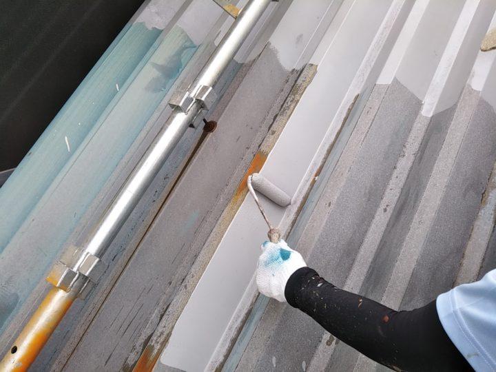 折板屋根 錆止め