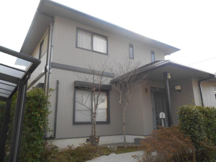 松江市M様邸屋根外壁塗装工事
