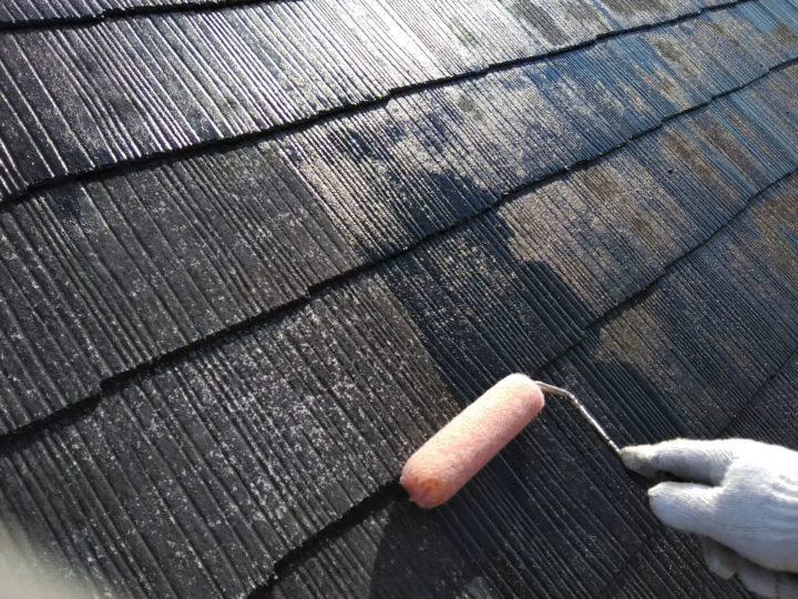 屋根 下塗り(シーラー)