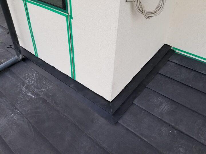 板金補修完了(2Fトイレ外壁)
