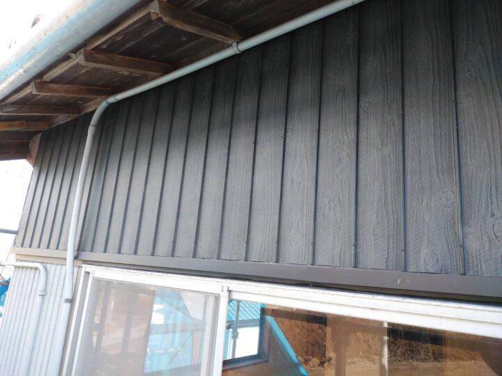 プリント鋼板 新設完了