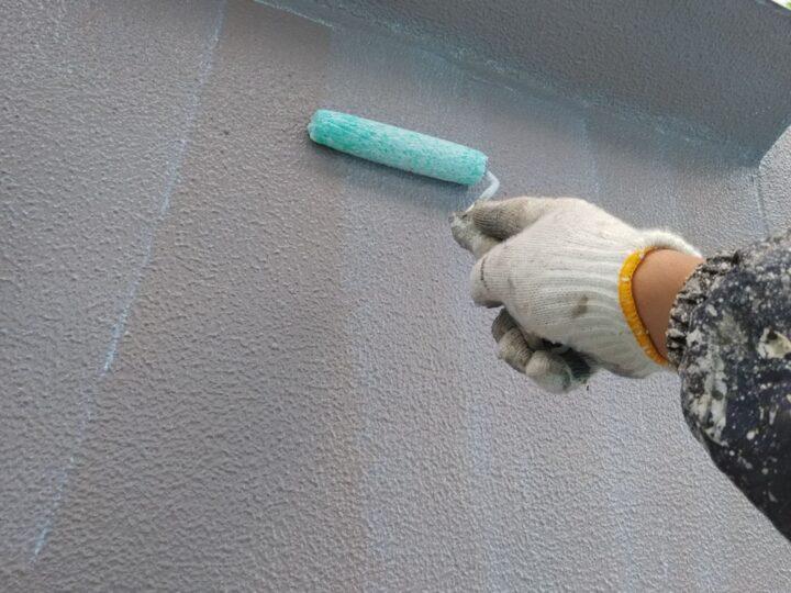 外壁 再塗装下塗り