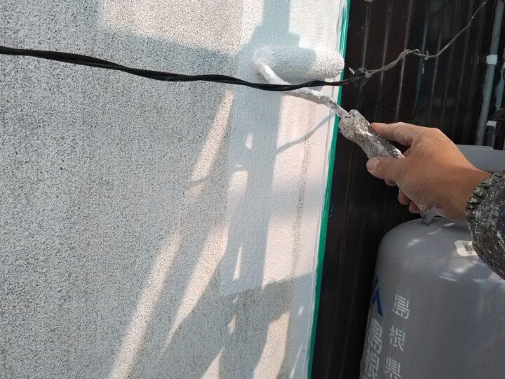 外壁 下塗り(厚付)