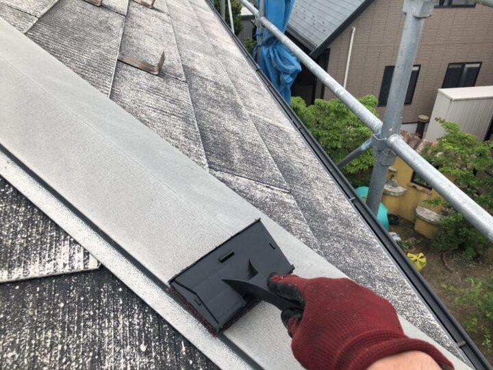 屋根板金ケレン