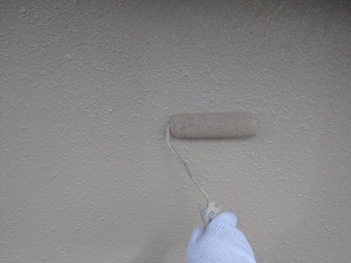 外壁上塗り(2回目)