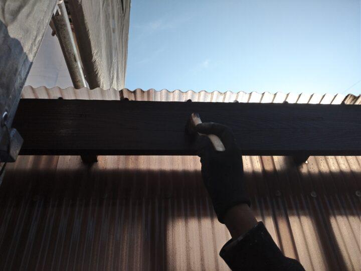 木部塗装(2回目)