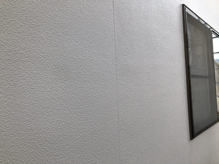 外壁モルタル面 完成
