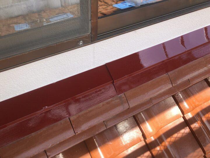 屋根水切り 完成