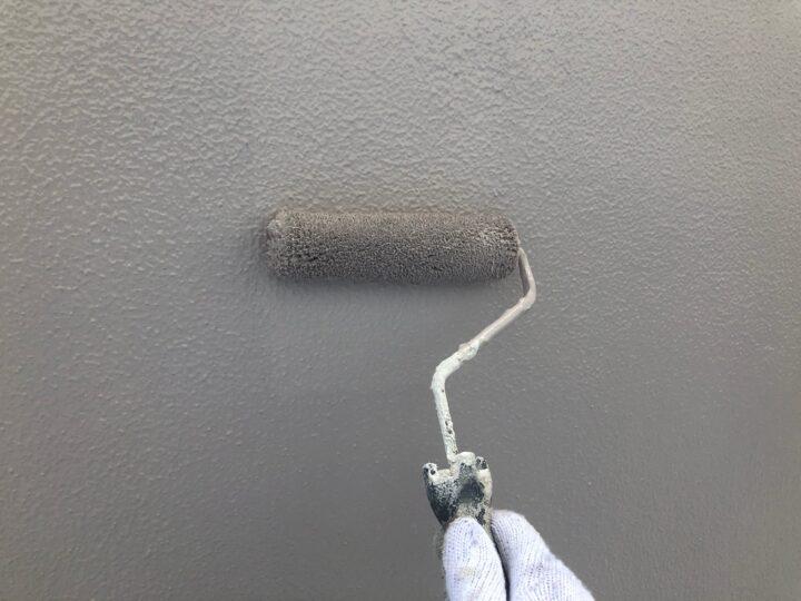 外壁 上塗り2回目(薄付)